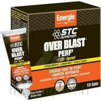 STC Nutrition Over Blast® PERF'CD- Sprint- Fruits Rouges Gel à Agen