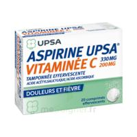 ASPIRINE UPSA VITAMINEE C TAMPONNEE EFFERVESCENTE, comprimé effervescent à Agen