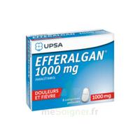 Efferalgan 1000 mg Comprimés pelliculés Plq/8 à Agen