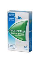 NICORETTE 2 mg Gom à mâcher médic sans sucre menthe glaciale Plq/30gom à Agen