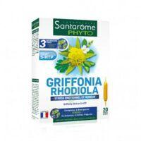 Santarome Bio Griffonia Rhodiola Solution buvable 20 Ampoules/10ml à Agen