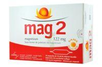 MAG 2 122 mg S buv en ampoule sans sucre édulcoré à la saccharine sodique 30Amp/10ml à Agen