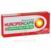 NUROFENCAPS 400 mg Caps molle Plq/10 à Agen