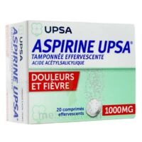 ASPIRINE UPSA TAMPONNEE EFFERVESCENTE 1000 mg, comprimé effervescent à Agen