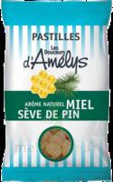 Les Douceurs d'Amelys Pastilles Miel sève de pin Sachet/100g à Agen